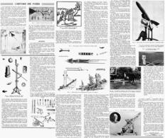 L'HISTOIRE DES FUSéES   1939 - Transports