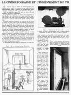 LE CINEMATOGRAPHE Et L'ENSEIGNEMENT Du TIR    1939 - Autres