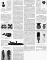 LES OBJETS De TOILETTE Dans L'ANCIENNE EGYPTE  1939 - Archéologie