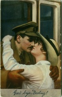 TUCK'S POSTCARD 1910s - GOOD BYE DARLING - SOLDIER & WOMAN KISSING - N. 8482 (BG2161) - Tuck, Raphael