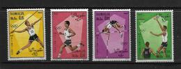 SOMALIE 1968 JO MEXICO  YVERT N°96/99  NEUF MNH** - Somalie (1960-...)