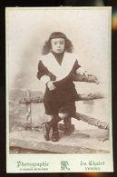 PHOTO ORIGINALE (10X16) SUR CARTON -  JEUNE ENFANT, PHOTO DE Fd. ROVELLI à VESOUL - Photos
