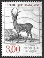 FRANCE  1988  -  Y&T  2540   -  Cerf De Buffon -  Oblitéré - France