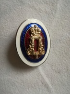 WW1 MODEL Serbia Cockade Military Hat Badge WWI Army Kingdom Yugoslavia KING PETER PETAR KARAĐORĐEVIĆ KARADJORDJEVIC - Landmacht