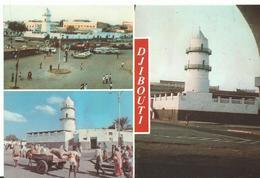 Afrique Djibouti Mosquée De La Place Mahamoud Harbi  Voitures Chariot - Djibouti