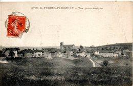 43. Saint Ferreol D'aurore. Vue Panoramique. Angle Haut Droit Abimé - France