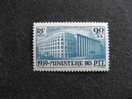 A). TB N° 424,  Neuf  XX . - France