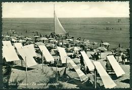 CARTOLINA - RIMINI - CV1584 TORRE PEDRERA (Rimini RN) La Ridente Spiaggia, FG, Viaggiata 1959, Ottime Condizioni - Rimini