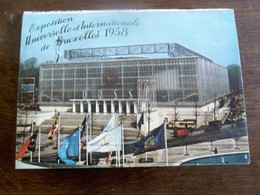 Boekje Serie 9     Met 10stuks Postkaarten      Exposition  Universelle De BRUXELLES  1958 - Tentoonstellingen