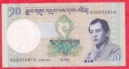 Bhoutan ---10 Ngultrum 2006---UNC--(13) - Bhutan