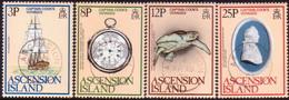 ASCENSION 1979 SG #242-45 Compl. Set Used Captain Cook's Voyage - Ascension
