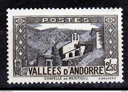 Andorre  86   1/4 De Cote  Neuf ** MNH Sin Charmela Cote 20 - Andorre Français