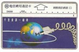 = TAIWAN -  D 6008  =  MY COLLECTION - Taiwan (Formosa)