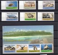 2007 - PAPUA NUOVA GUINEA -  Catg.. Yv.  1133/1142 - NH - (UP.207.5) - Papua Nuova Guinea