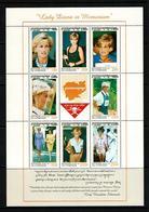 Cambodia 1997 Sc # Bf 1685  MNH **  Princess Diana In Memoriam - Royalties, Royals