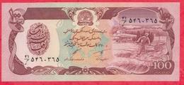 Afghanistan --100 Afghanis----1979/91---UNC--(25) - Afghanistan