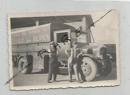 Photographie 73 Savoie Camion L'étoile Des Alpes De L'épicerie D'ugine  Photo 6x8,8 Cm Env - Automobiles
