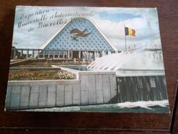 Boekje Met 10 Stuks Postkaarten  Serie 10      Expo .  Universelle Et Internationale  De Bruxelles 1958 - Exhibitions