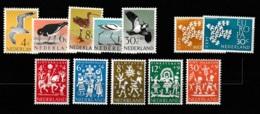 1961 Jaargang Nederland NVPH 752-763 Complete. Postfris/MNH** - Pays-Bas