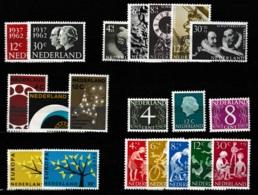 1962 Jaargang Nederland NVPH 764-783 Complete. Postfris/MNH** - Pays-Bas