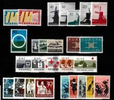1963 Jaargang Nederland NVPH 784-810 Complete. Postfris/MNH** - Pays-Bas