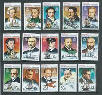 British Antarctic Territory 1975 - 80 Polar Explorer & Ship Simplified Set 15 MNH - Unused Stamps