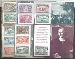 Spain - 1992 Voyages Of Columbus Set Of 6 S/sheets MNH **       Sc 2677-82 - Blocks & Sheetlets & Panes