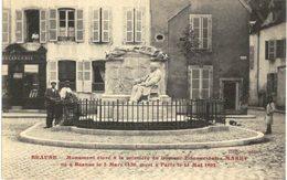 BEAUNE .... MONUMENT ELEVE A LA MEMOIRE DU DR MAREY NE A BEAUNE EN 1830 - Beaune