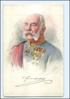 Y10560/ Kaiser Franz Josef Ak 1915  Kriegshilfsbüro  - Familles Royales