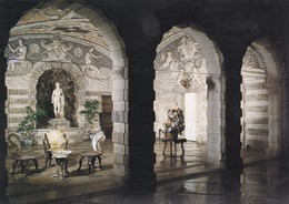 Postcard The Grotto Woburn Abbey My Ref  B23355 - Other