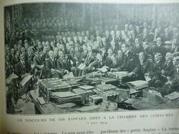 Guerre 14 18 , Le Discours De Sir Edward Grey A La Chambre Des Communes , 1915 - Documenti Storici