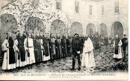 06. Ile St Honorat. Abbaye De Lérins Pendant La Guerre 1870-187. Tableau De Rubinet De Poissy - Autres Communes