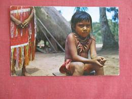 Carib Indian Girl- Surinam- Ref 3136 - America