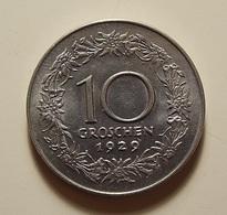 Austria 10 Groschen 1929 - Autriche
