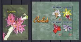 2007 - S.KITTS -  Catg.. Mi.  959/963 - NH - (UP.207.6) - St.Kitts E Nevis ( 1983-...)