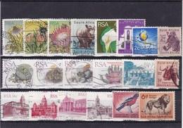 AFRIQUE DU SUD : Y&T : Lot De 20 Timbres Oblitérés - Afrique Du Sud (1961-...)