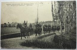DRAGONS EN ÉCLAIREURS - ARMÉE FRANÇAISE EN MANŒUVRES - Manovre