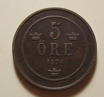 Sweden???? 5 Ore 1876 - Schweden