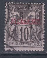 Alexandrie N° 7  O Type Groupe : 10 C Noir Sur Lilas Oblitération Moyenne Sinon TB - Usati