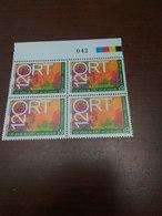 ORT 120th Anniversary Multicolored - Timbres