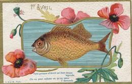 I36 - Fantaisie - 1er Avril - Petit Poisson D'Avril Est Bien Douce Légende... - April Fool's Day
