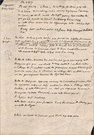 Généalogie De Gilles De Chin, Originaire De Busigny - Manuscripts