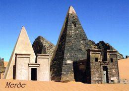 1 AK Sudan * Tempel Und Pyramiden Von Meröe 400 V. Chr. Bis 300 N. Chr. - Seit 2011 UNESCO Wetkulturerbe * - Sudan