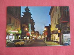 Chinatown At Night   California > San Francisco-----  Ref 3136 - San Francisco
