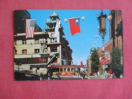 Chinatown  Trolley Grant Avenue    California > San Francisco-----  Ref 3136 - San Francisco