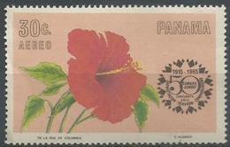 Panama - 1966 Hibiscus MNH **       Sc C344 - Panama