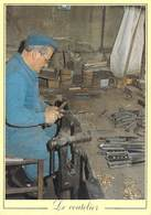 Thèmes-Métier Les Métiers D'Antan LE COUTELIER Le Montage Des Manches De Couteaux (artisanat) (artisan)*PRIX FIXE - Artisanat