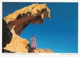 Namibia - Felsformation Bei Twyfelfontein - Namibie