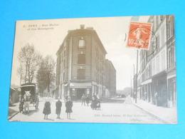 """94 ) Ivry - N° 8 - Rue Moise Et Rue Bourgois """" Attelage """"  - Année 1914 - EDIT : Durand - Ivry Sur Seine"""