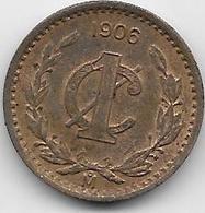 Mexique - 1 Centavo 1906 - Mexico